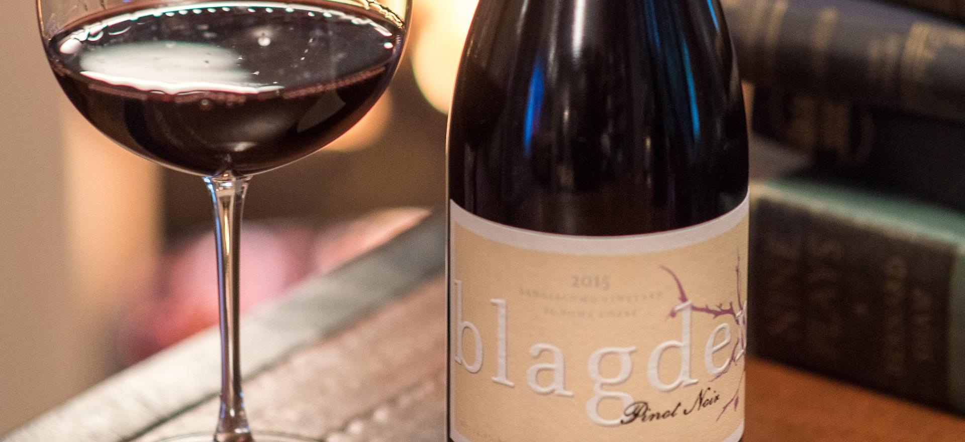 Blagden Wines Pinot Noir
