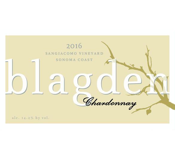2016 Chardonnay Sangiacomo