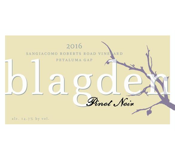 2016 Pinot Noir Sangiacomo